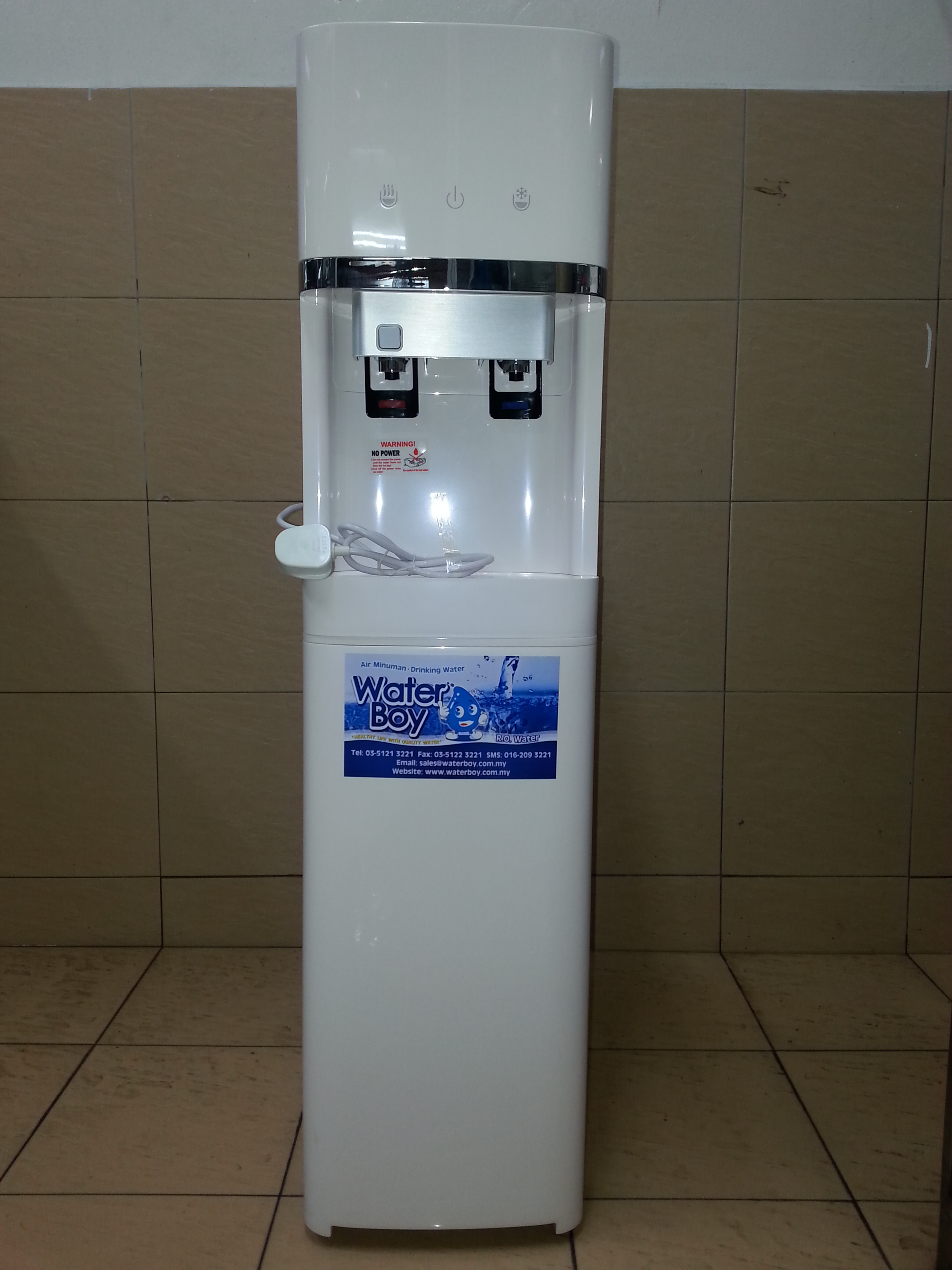 HOT AND COLD KOREA DESIGN FLOOR STANDING DIRECT PIPE IN 3
